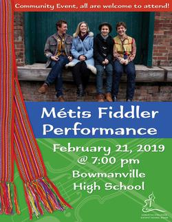 Métis Fiddlers - All welcome!