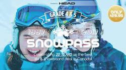 Snow Pass for Kids in grade 4 or 5